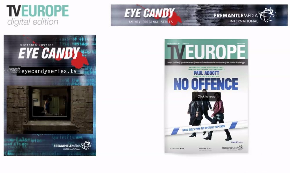Eye Candy digital advertising