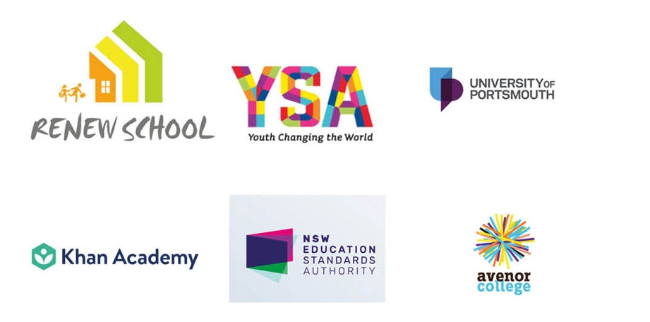 Educational organisation logo research