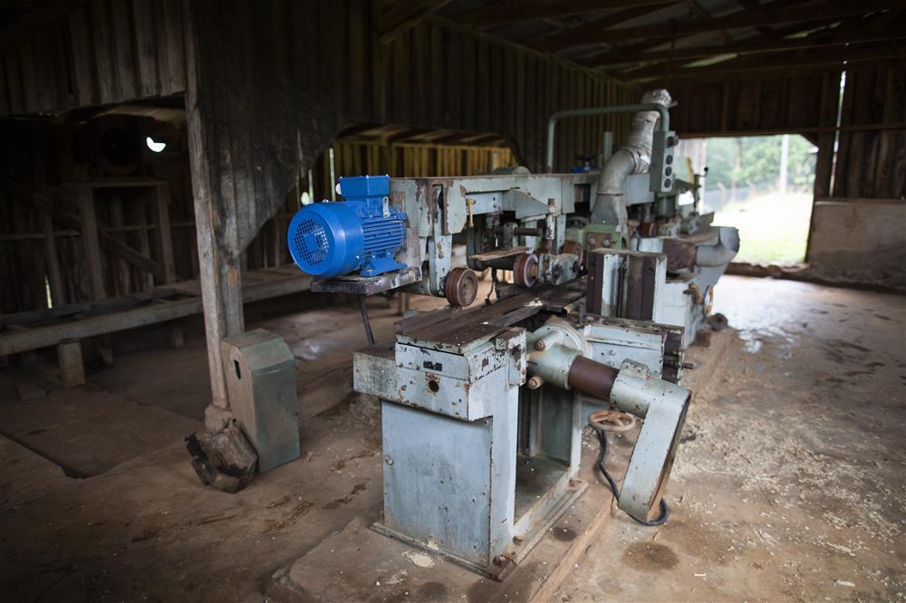 Maskinen har fått ny dynamo støttet av Buddies for Africa