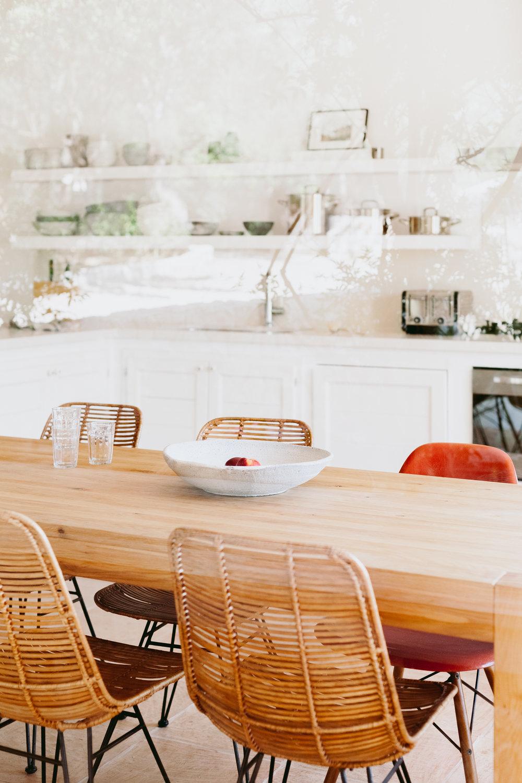 Stil - Eine Kombination aus zeitgenössischem Komfort und Schönheit des Einfachen prägt die Ausstattung des Hauses.Modernes Equipment und Design-Klassiker treffen auf traditionelle Elemente