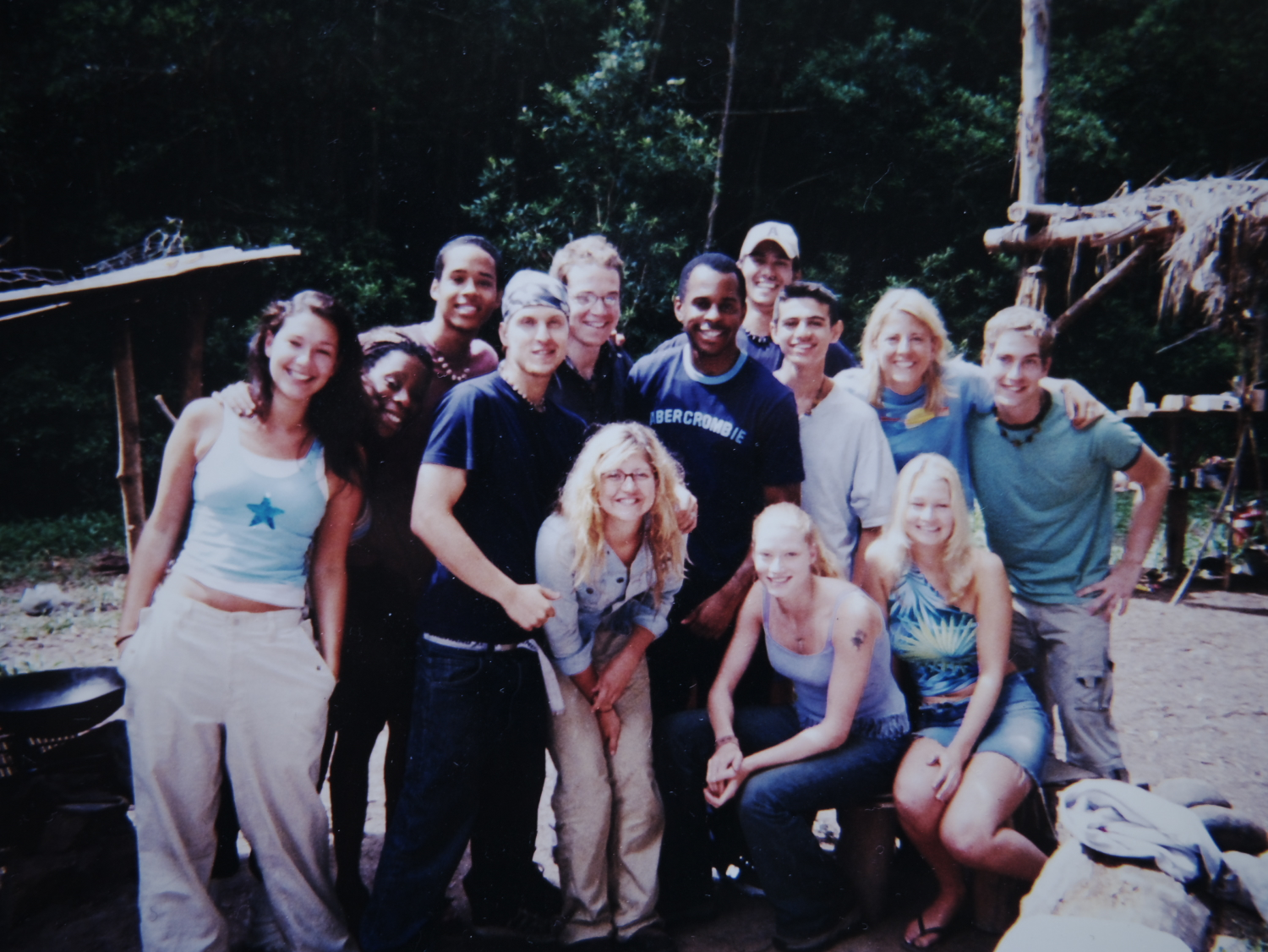 The Edenites with former presenter and T4 commissioning editor at the time Andy Peters...