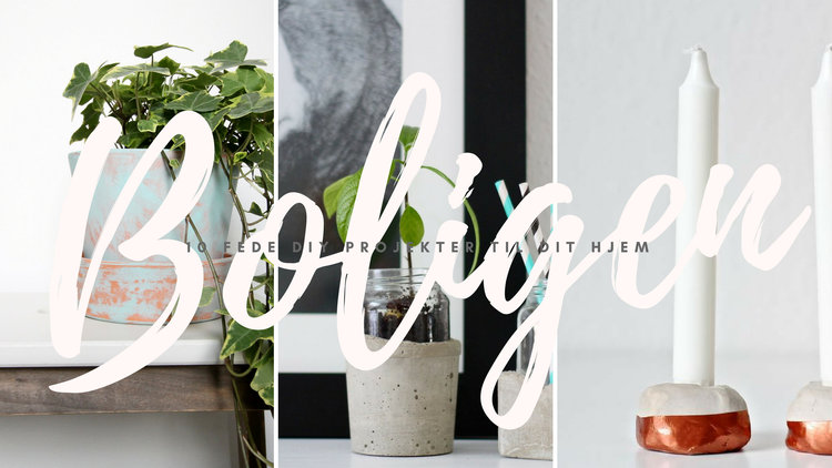 DIY i boligen - 10 inspirerende DIY projekter til dit hjem. 17cabd72e2401