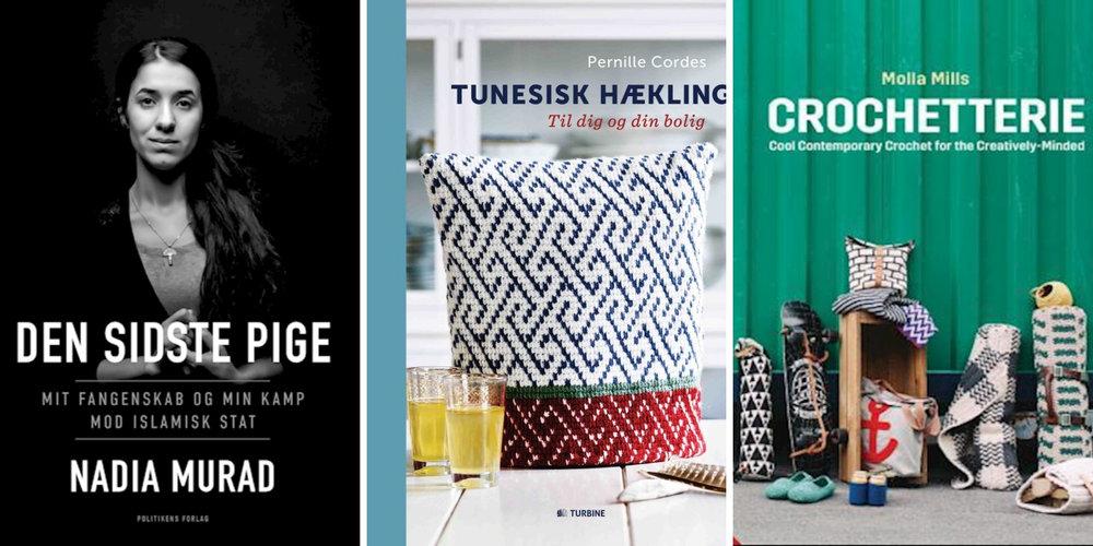 ' Den sidste pige ',  Tunesisk hækling ,  Crochetterie  (reklamelink)