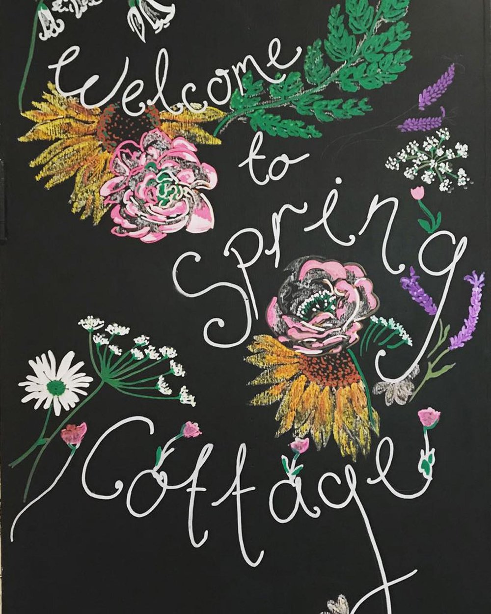 Welcome to Spring Cottage Cafe Rivington Lancashire