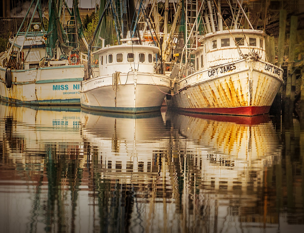 Fishing Boats of the Morning