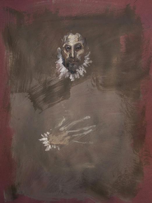 Caballero (según El Greco)