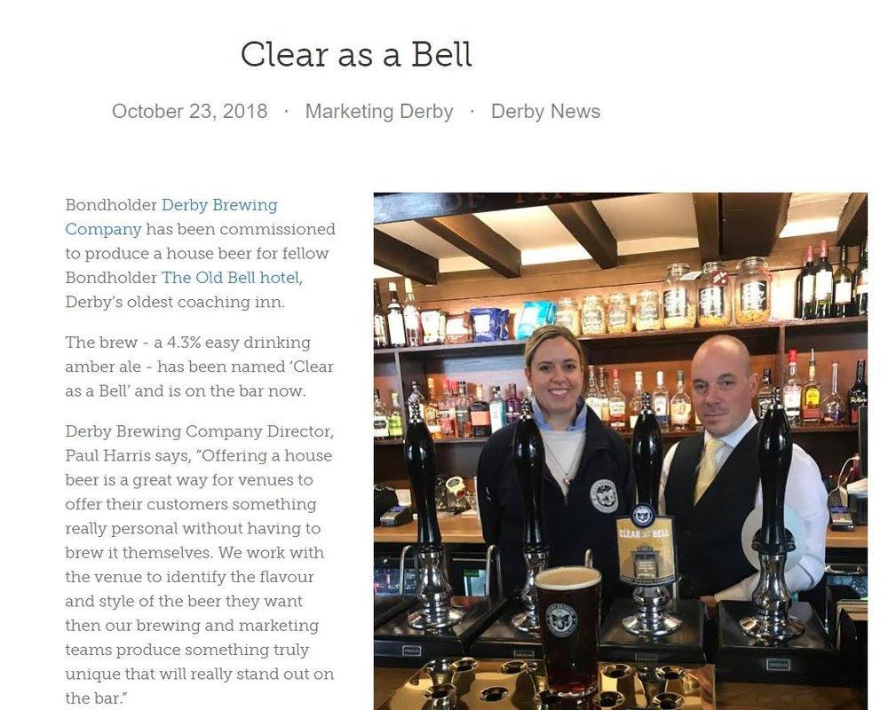 Clear As A Bell Press 1.JPG