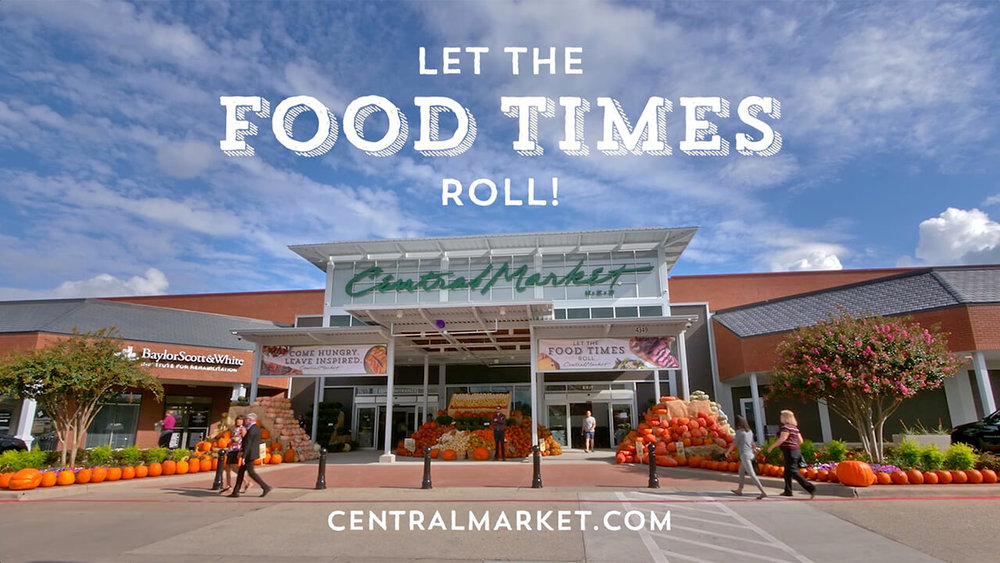 Reveal Film and Video Productions Dallas Digital Social Media Campaign Central Market Midway Let The Food Times Roll.jpg