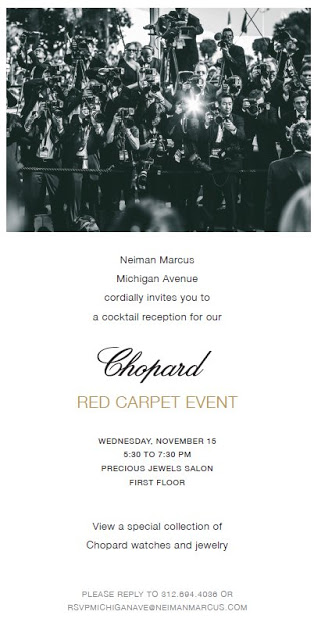 Chopard and Neiman Marcus Red Carpet Cocktail Reception