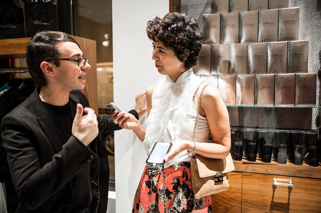 Fashion Junkie, Jessica Moazami interviews fashion designer Christian Siriano
