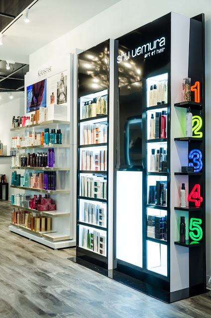 The contemporary salon is only one of five salons in Chicago to carry the exclusive Shu Uemura brand praised by hair and beauty experts from Allure, Vogue and Elle.