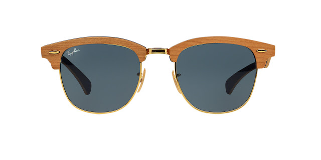Georgia May Jagger's favorite pair of sunglasses the Ray-Ban Clubmasters from Sunglass Hut