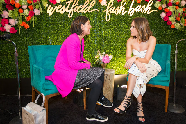 TV host and fashion journalist, Louise Roe, dishes LA, London and Fashion at the Westfiield Old Orchasrd Fash Bash