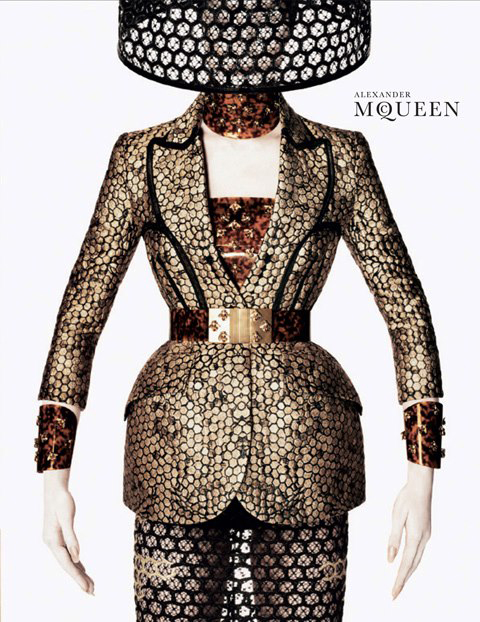 One Georgia May Jagger's favorite designer Alexander McQueen