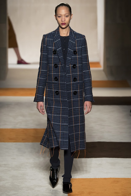 FASHION AND BEAUTY'S A-Z, P is for plaid coat by Victoria Beckham