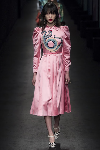 Fashion and Beauty's A-Z, Z is for Zoo and other animal motifs including this Gucci snake dress