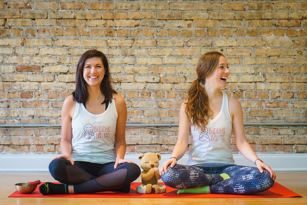 Buddha Belly Founders Meg & Erin