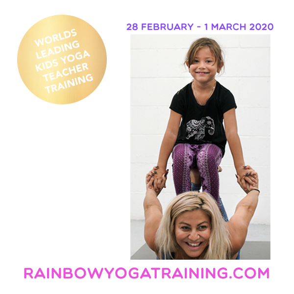Rainbow Kids Yoga Teacher Training Buddha Belly