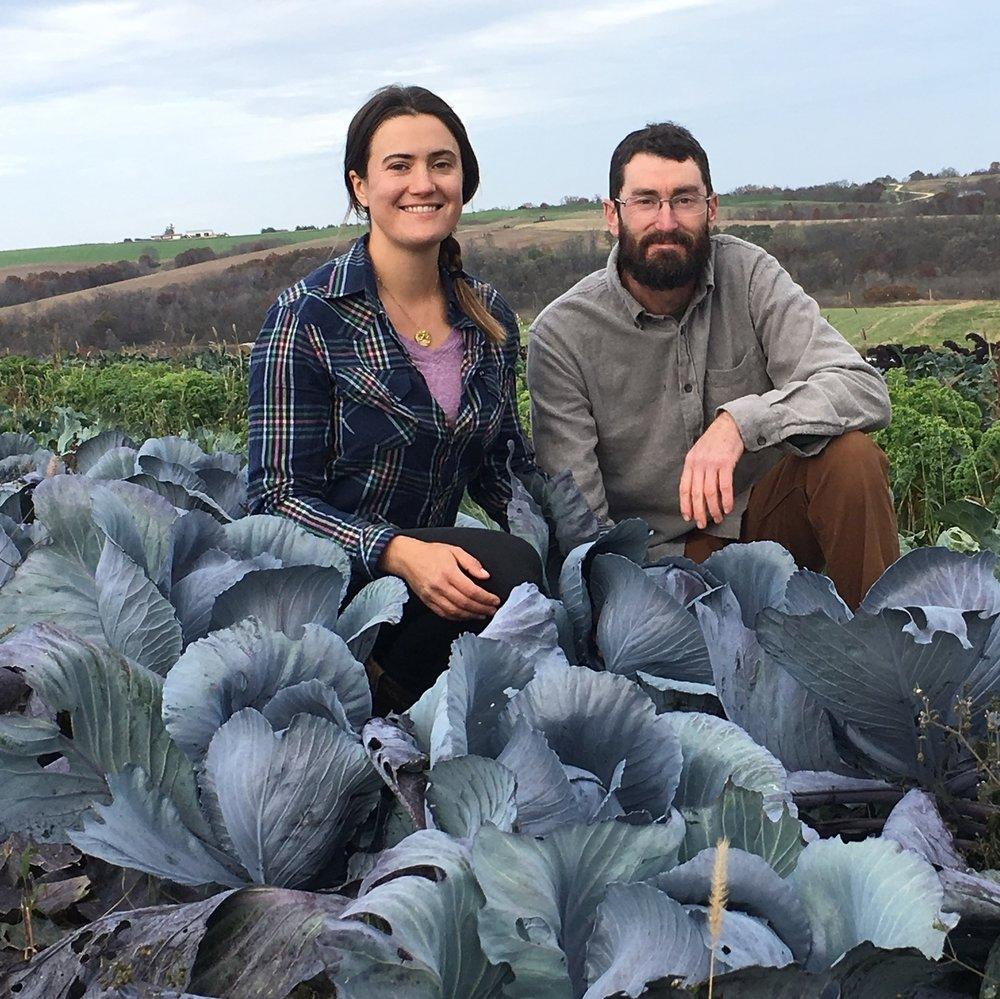 We're farmers and eaters and two people With a lot of farm dreams.