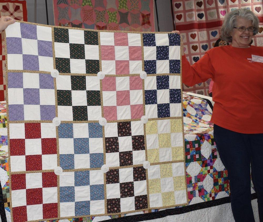 "Gloria Reeves ""Sampler Pattern Pieced"""
