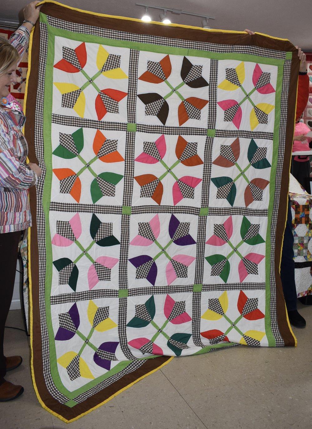 """Francine Vickers """"Tuplip Pattern Piece"""""""