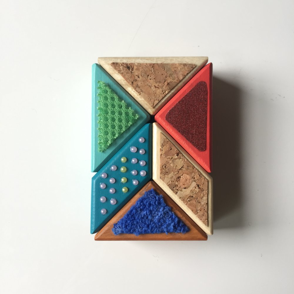 Magnetic woodblocks