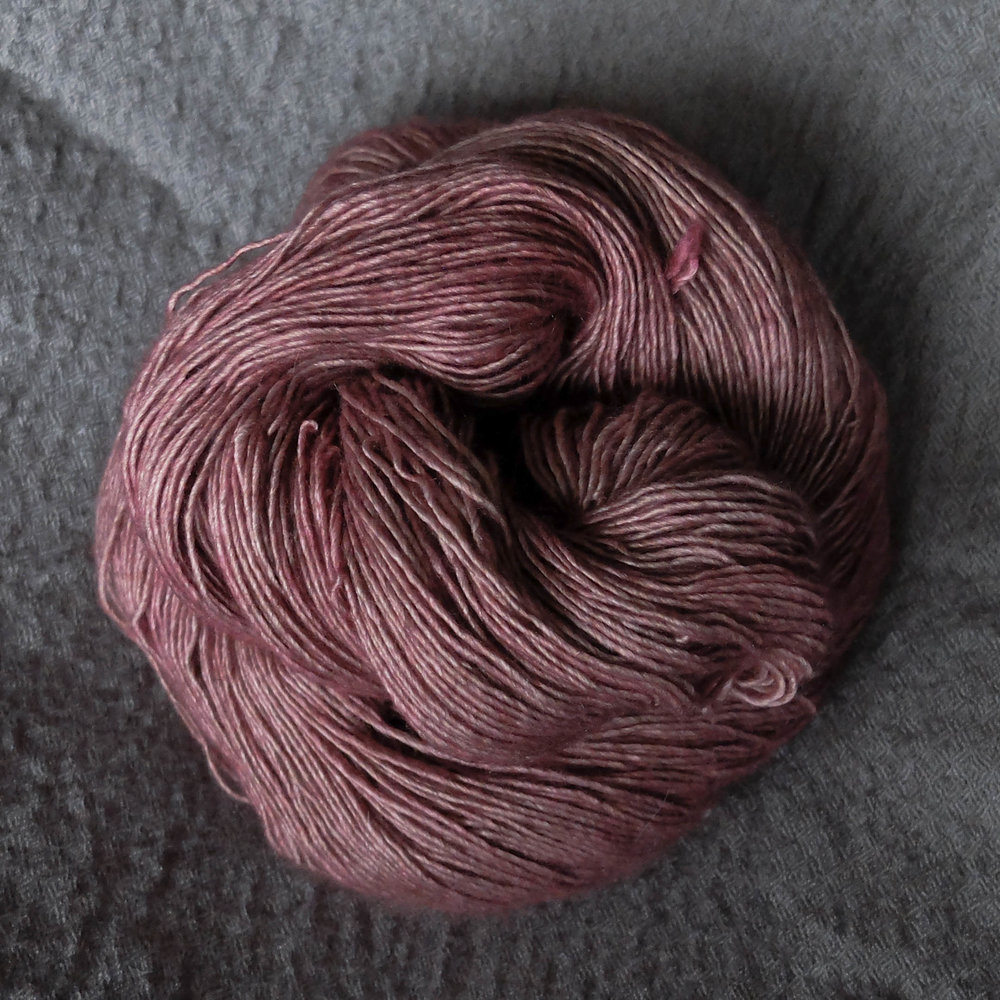 Hagbard and the King's daughter shown on Singles - Merino/Silk/Yak.