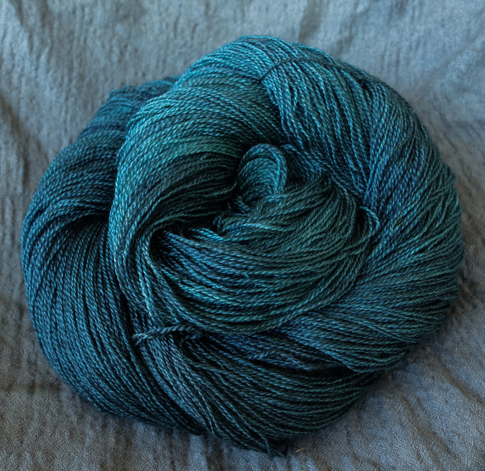 The daughter's of Ràn shown on Lace - BFL/Silk