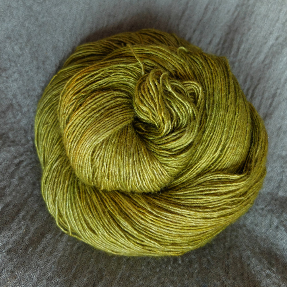 Freyr shown on Singles - Merino/Silk/Yak