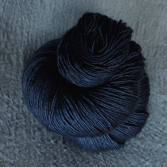 Thor's wrath shown on Singles - Merino/Silk/Yak