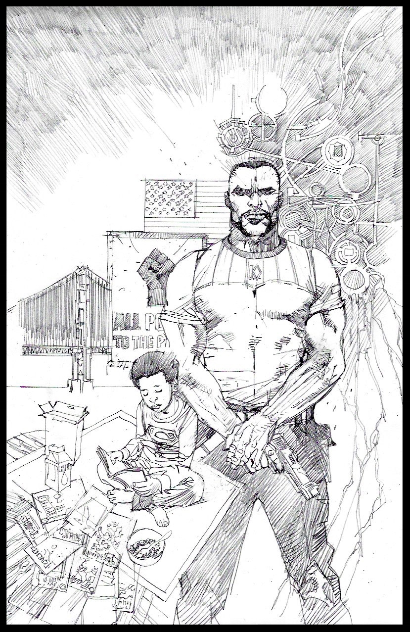 Michael Cray #1 - Cover - Pencils