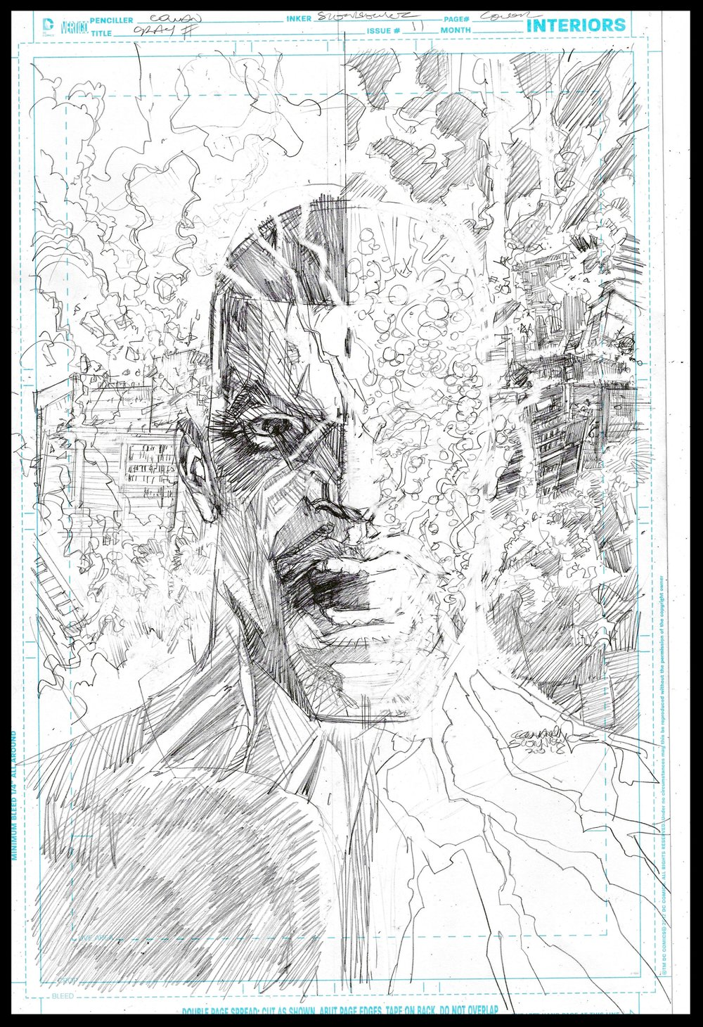 Michael Cray #11 - Cover - Pencils