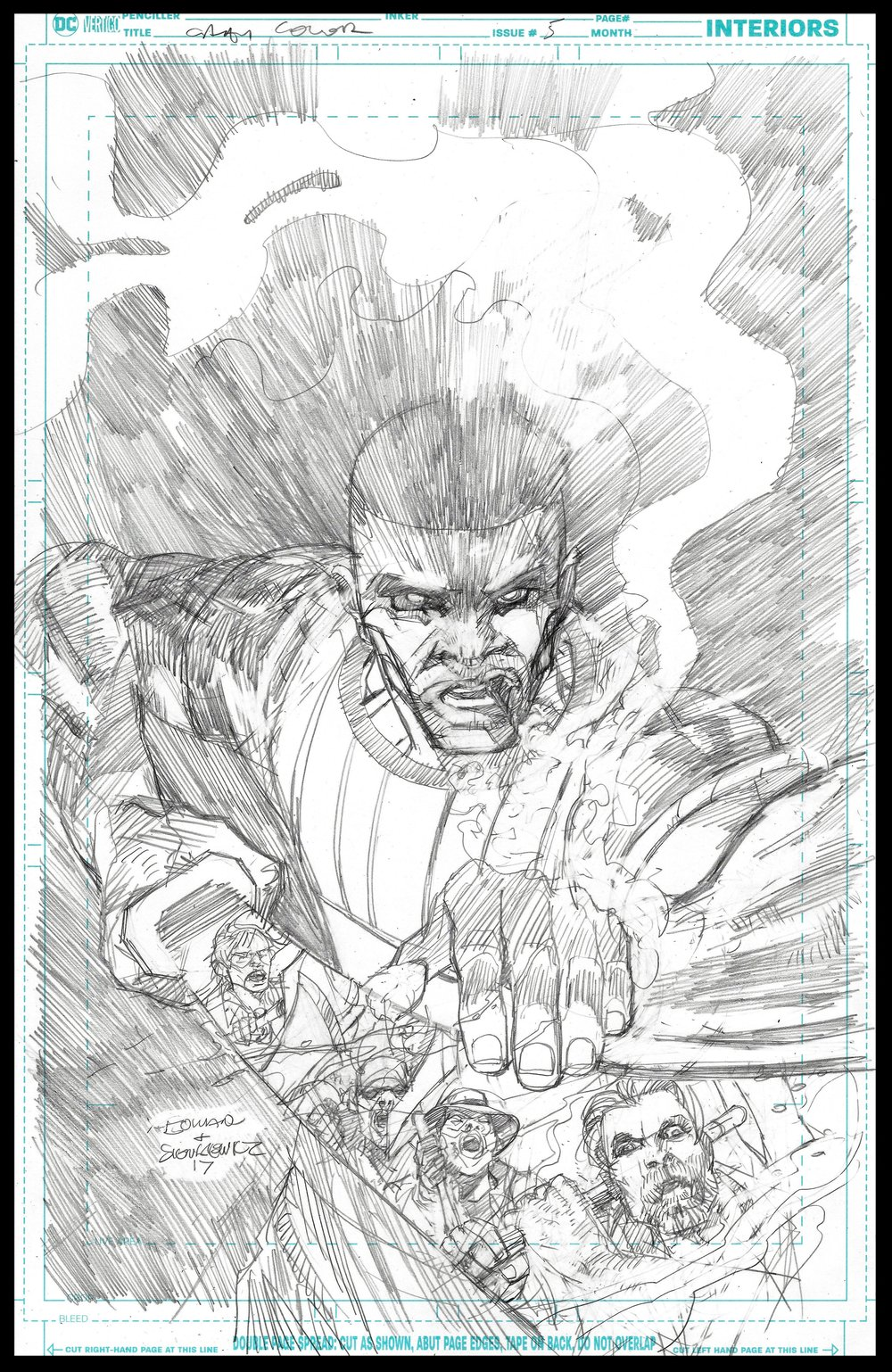 Michael Cray #5 - Cover - Pencils