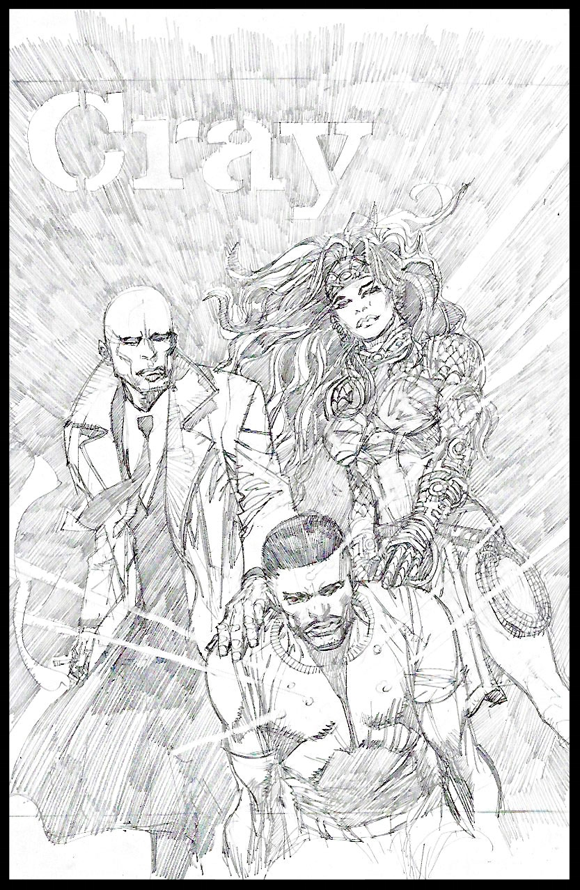 Michael Cray #10 - Cover - Pencils