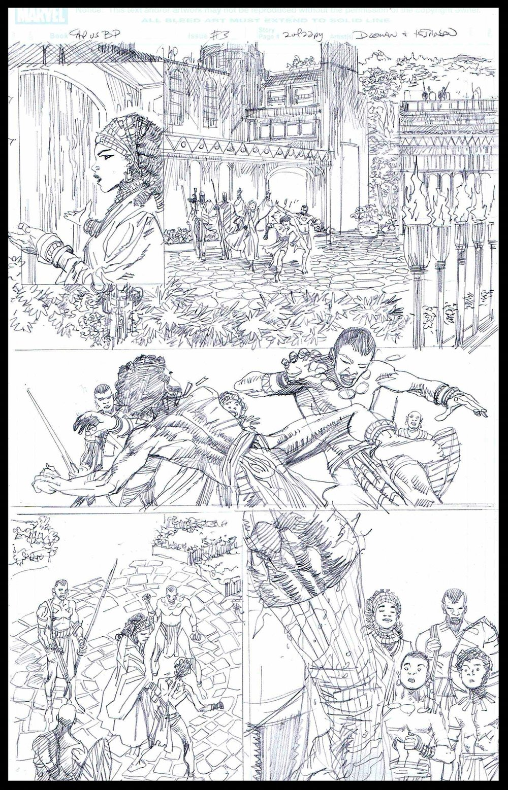 Flags of Our Fathers #3 - Page 2 - Pencils