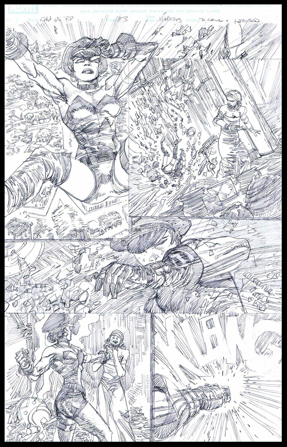 Flags of Our Fathers #3 - Page 11 - Pencils
