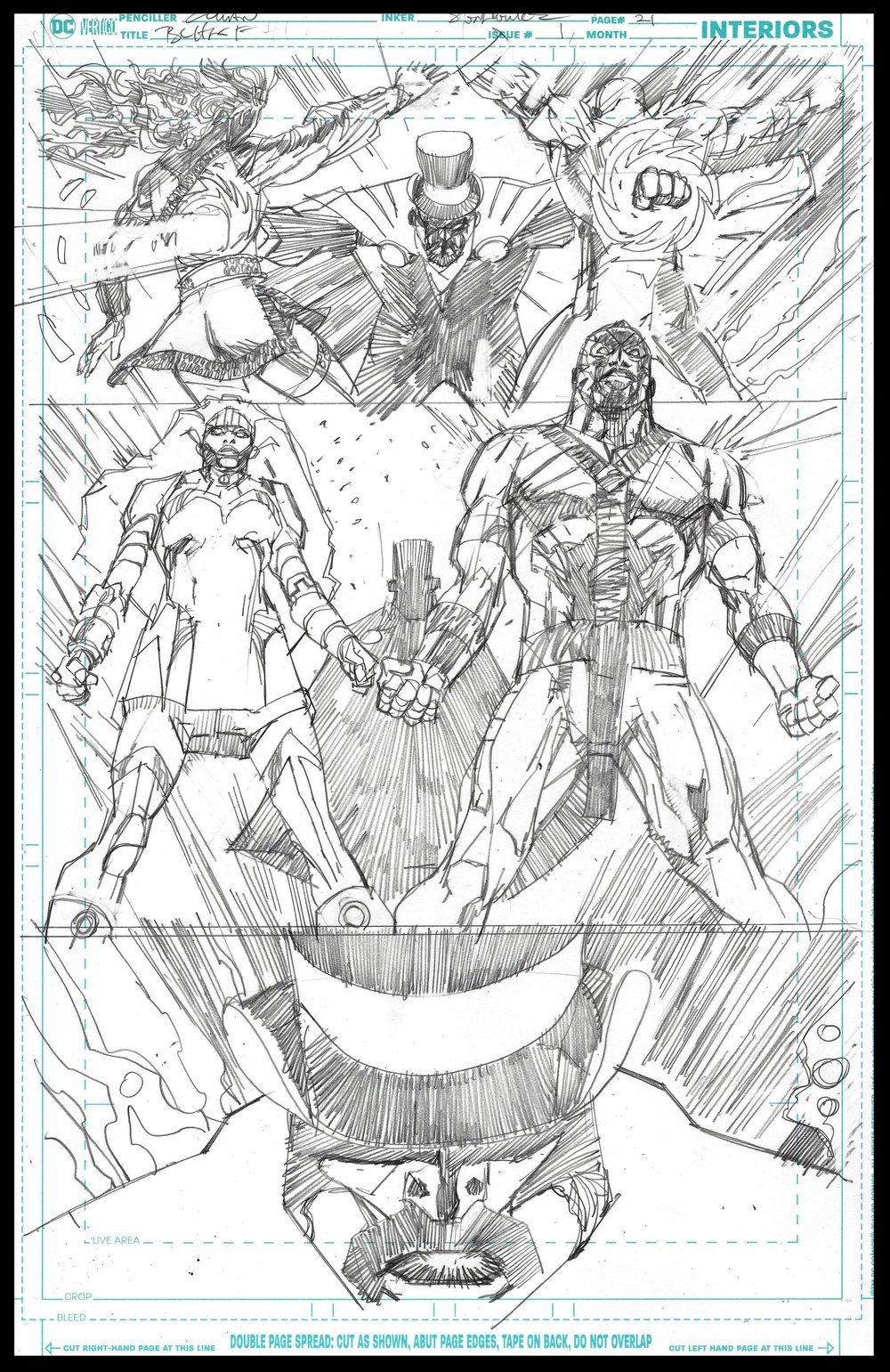 Black Lightning-Hong Kong Phooey #1 - Page 21 - Pencils