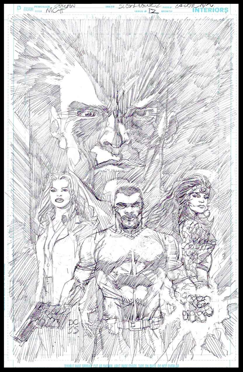 Michael Cray #12 - Cover - Pencils