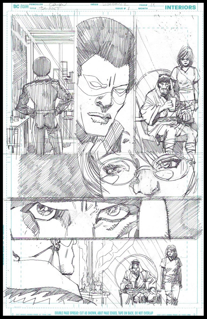 Black Lightning-Hong Kong Phooey #1 - Page 19 - Pencils