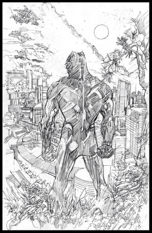 Black Panther - Mondo Poster - Pencils