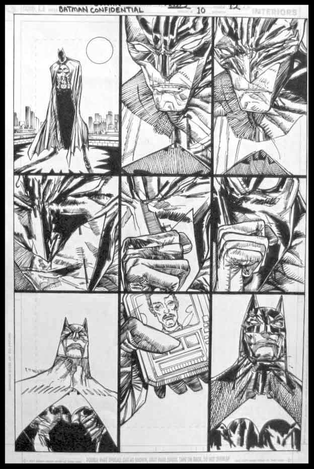 Batman Confidential #10 - Page 12 - Pencils & Inks