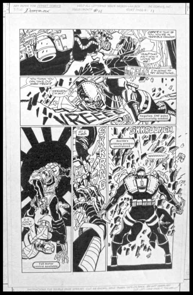 Deathlok #11 - Page 11 - Pencils & Inks