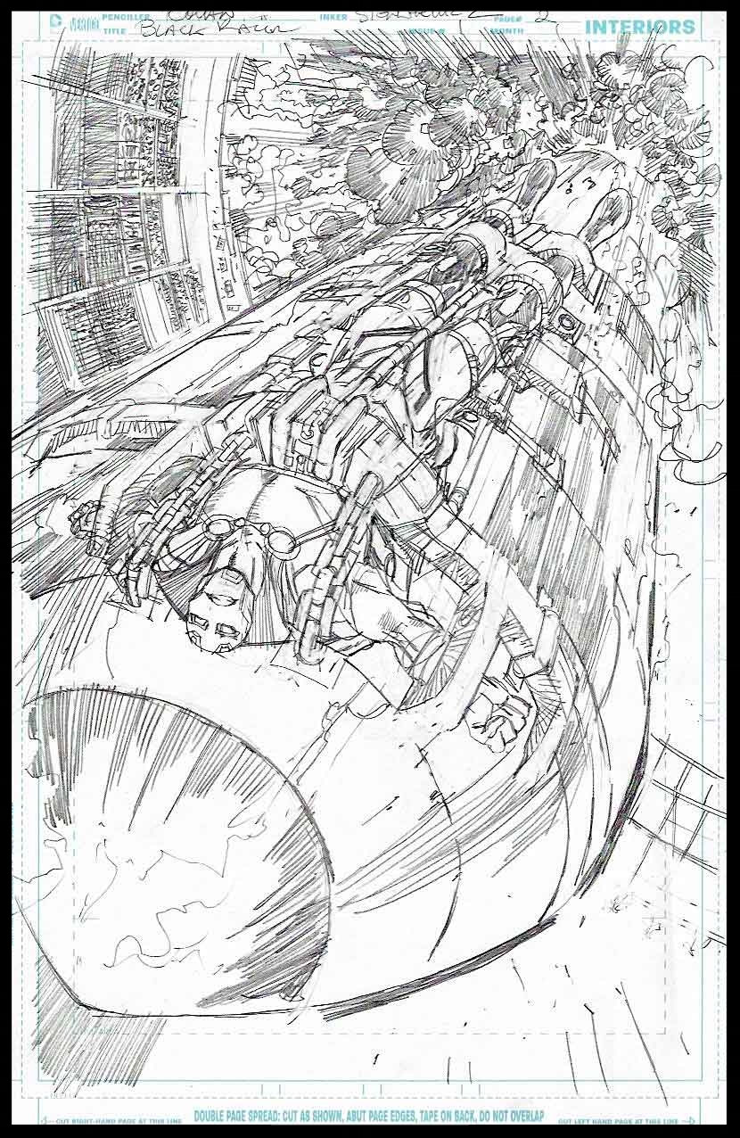 Black Racer #1 - Page 2 - Pencils
