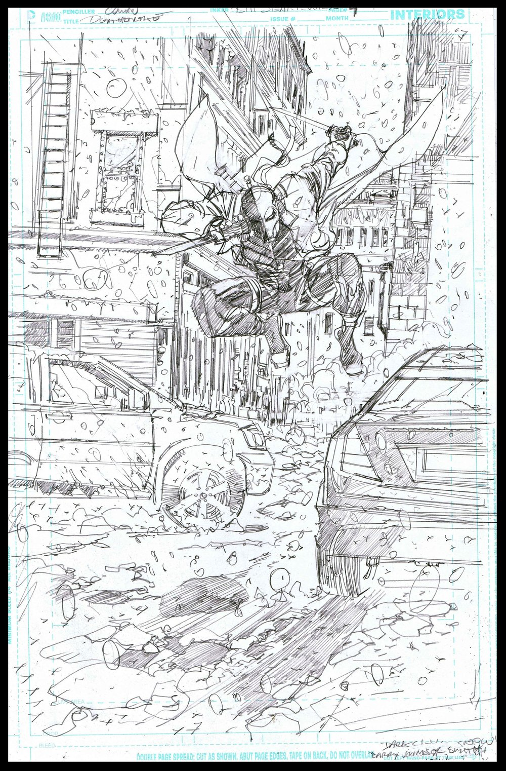 Deathstroke #11 - Page 4 - Pencils