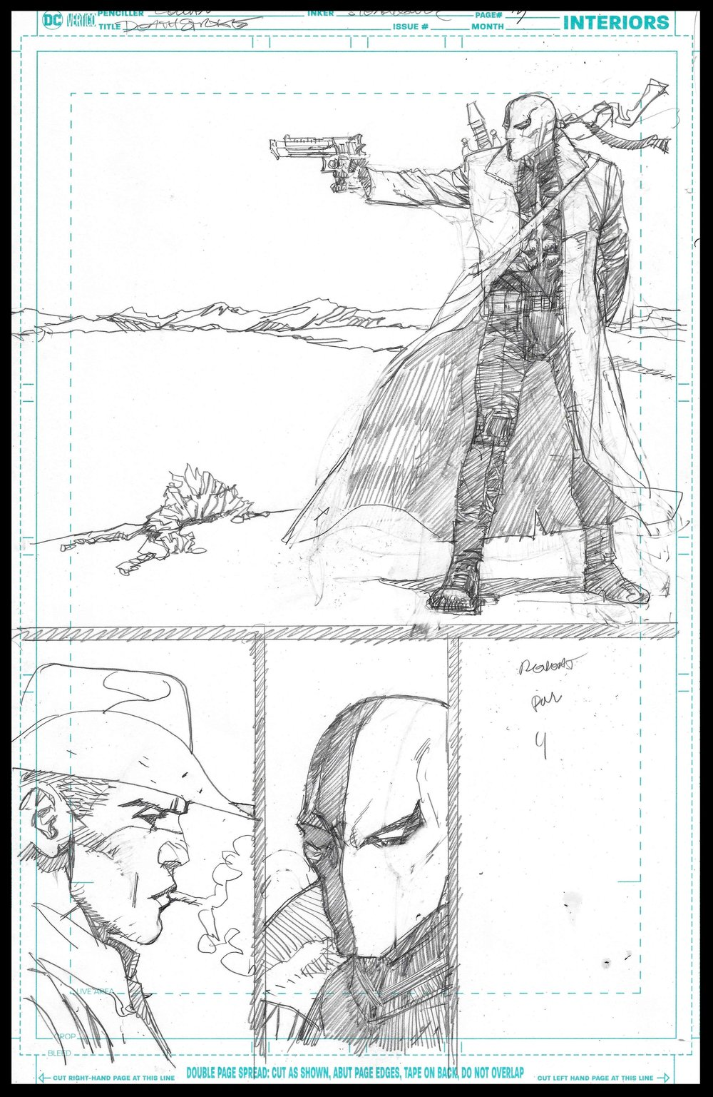 Deathstoke Annual - Page 3 - Pencils
