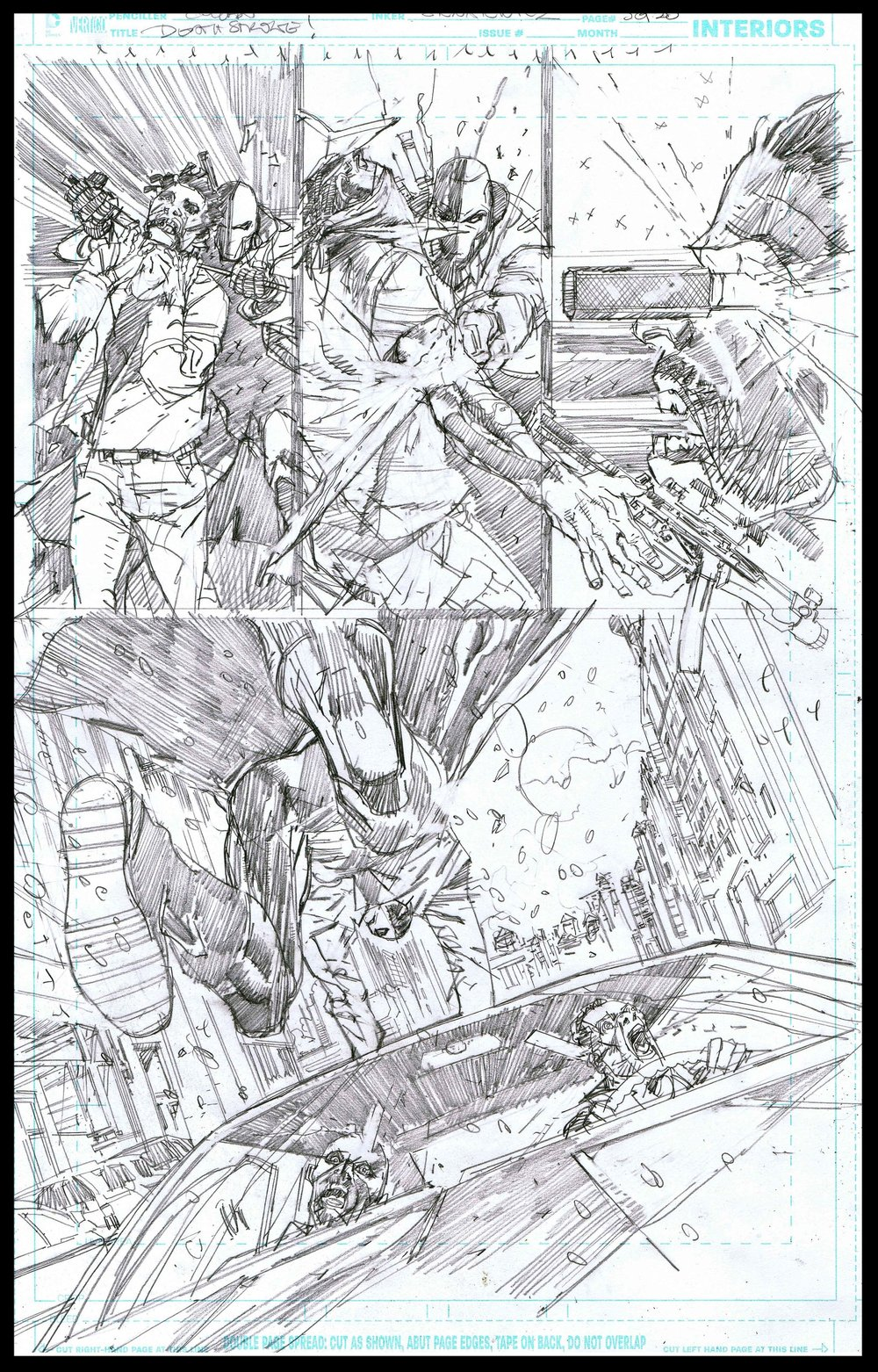 Deathstroke #11 - Page 5 - Pencils