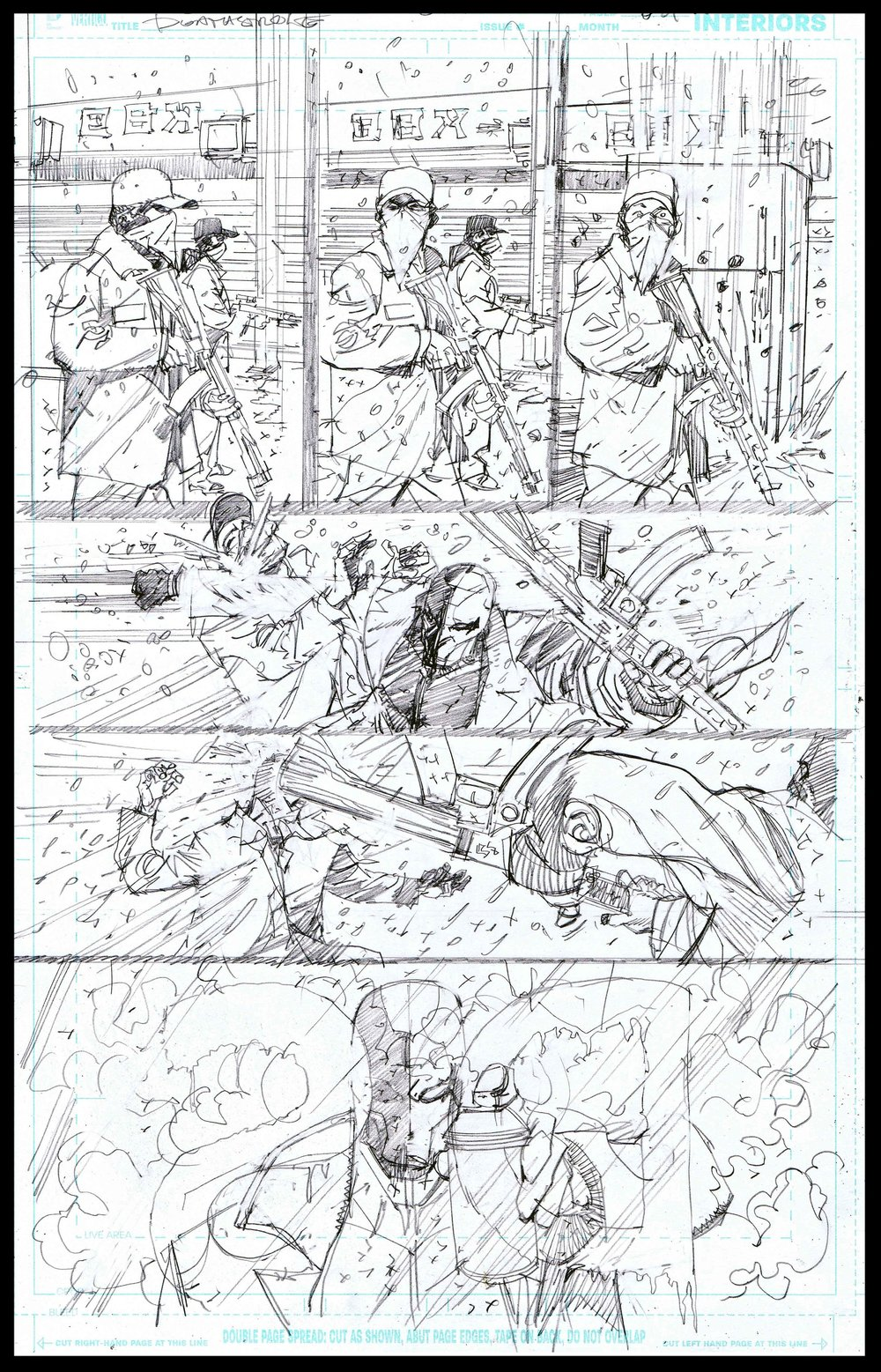 Deathstroke #11 - Page 8 - Pencils