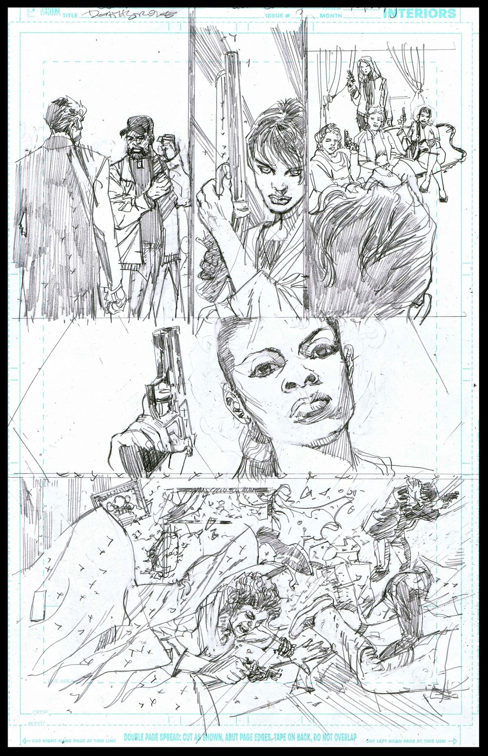 Deathstroke #11 - Page 9 - Pencils