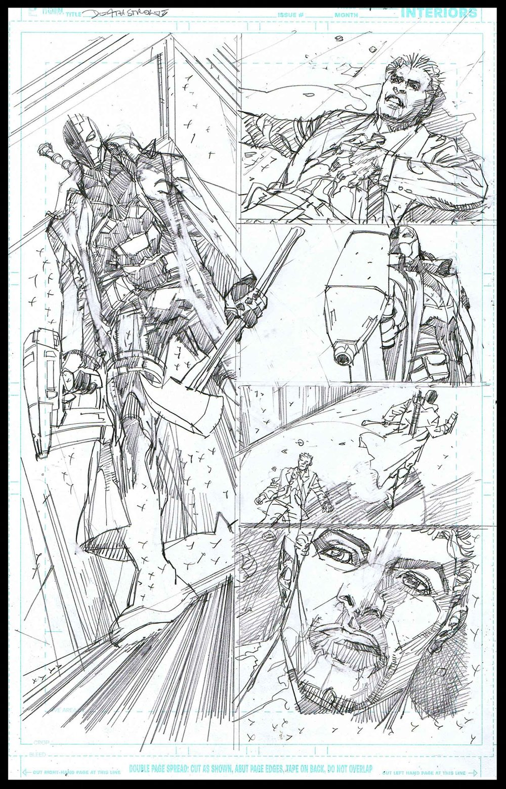 Deathstroke #11 - Page 14 - Pencils