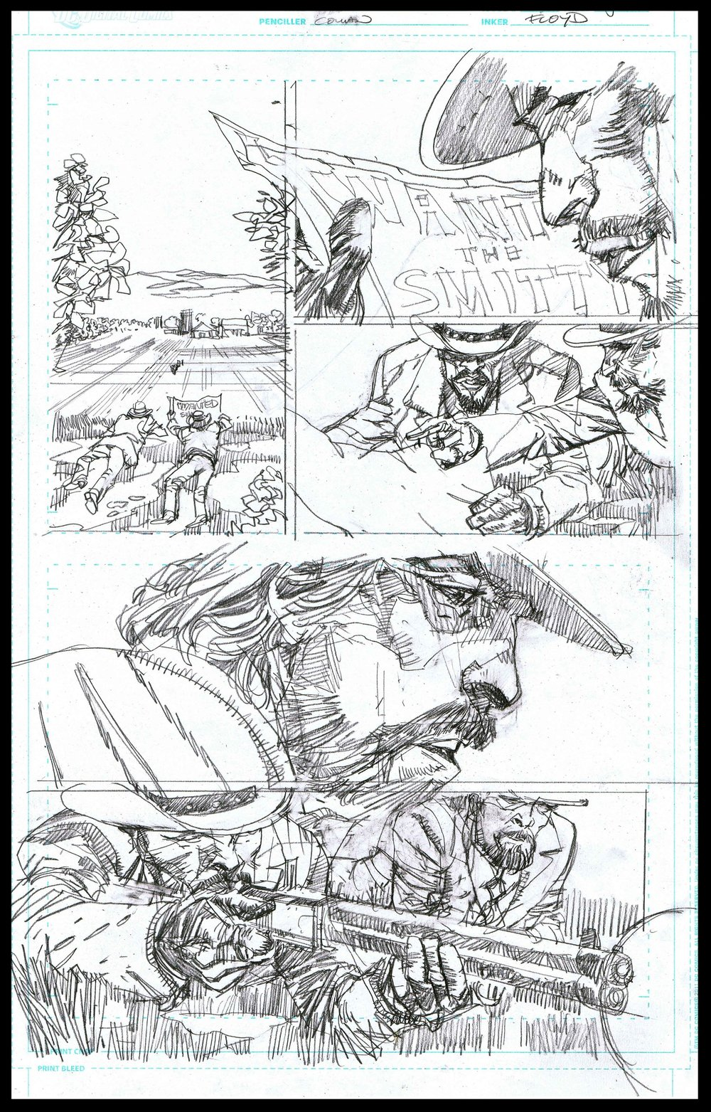 Django Unchained #3 - Page 5 - Pencils